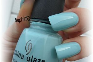 china glaze kinetic candy - nails papillons