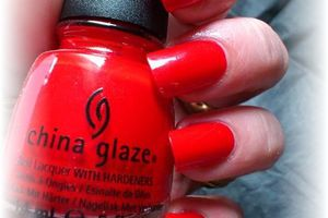 china glaze with love - nails papillons