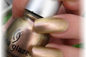 china glaze swanky silk - kristal beauté