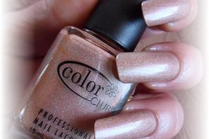 "vernis color club "" love'en leave'en "" holo"
