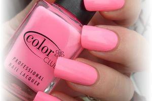 "vernis color club "" lazer pink """