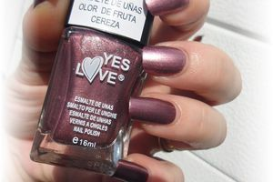 vernis yes love cerise