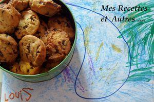 COOKIES A LA MELASSE ET CHOCOLAT
