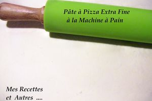 PATE A PIZZA EXTRA FINE EN MAP