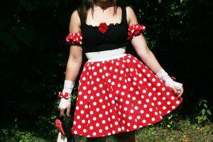 Minnie Mouse jusqu'au bout des ongles