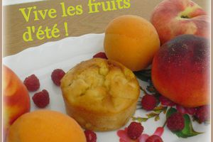 A vos tabliers ! Muffin Monday # 32 - Vive les fruits d'été !