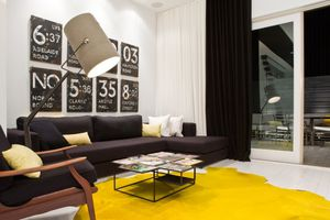 Appartement yellow touch