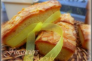 Financiers aux amandes ultra rapide