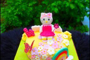 Gâteau Hello kitty d'Alice