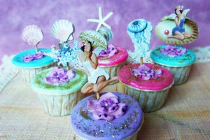 "Cupcakes ""Coquillages & crustacés"""