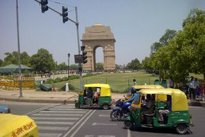 India Gate--World War I Memorial in New Delhi