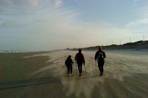 22 janvier 2012 sortie dans le vent !...