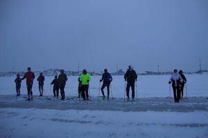 Sortie du samedi 26 janvier 2013 à la plage de Leffrinckoucke