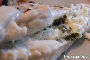 Filet de poulet au fromage frais