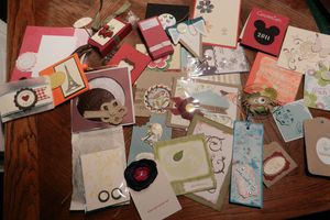 CONVENTION STAMPIN UP : THE FIRST ONE