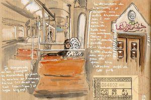Dans le Tram... الإسكندرية