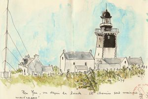Phare de Pen Men... Groix J5