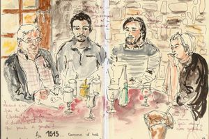 Clermont Ferrand... Drink and Draw