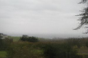 Pluie au sec...