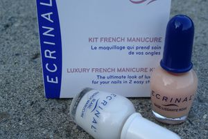 Kit French Manucure - Ecrinal ( test )