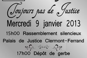 Clermont-Ferrand : Vérité et justice pour Wissam, rassemblement mercredi, un an après