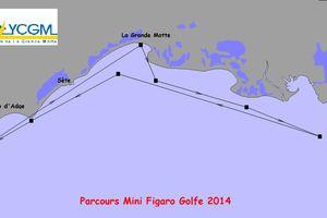 La Mini Figaro Golfe 2014 : programme et parcours