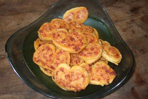 feuilletés chorizo fromage
