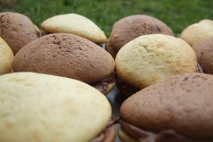 whoopies bicolores