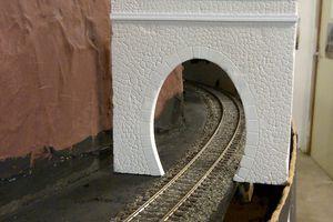 L'entrée de tunnel en repérage
