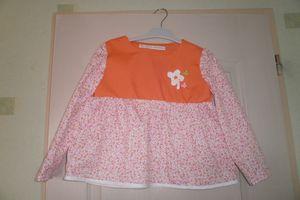 Tunique couleur seventies