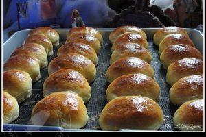 Petits pains au lait briochés de Fidji