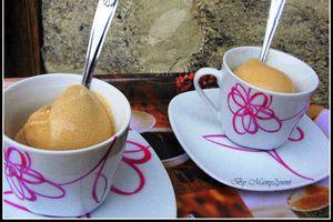 Glace au café