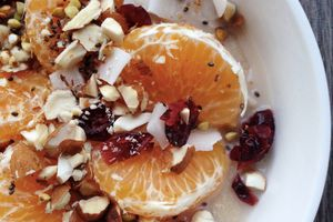 Clementines oat cream