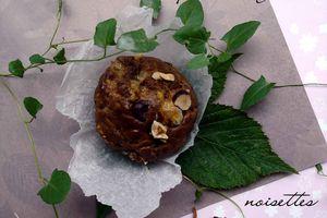 Muffins des sous bois aux pleurotes et noisettes {MM#38}