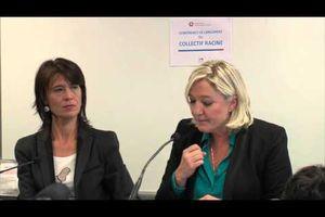 Conférence de lancement du Collectif Racine : discours Marine Le Pen