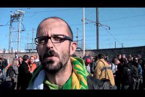 Retraites : SNCF Lyon la mouche : interview d'un délégué Sud Rail
