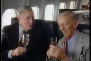 Gene Kelly et Fred Astaire - Western Airlines (PUB 1985)