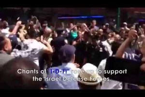 Voici comment on accueille des manifestants pro-Hamas en plein quartier juif de New-York !