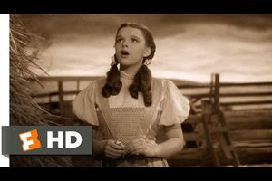 Judy Garland - Over the rainbow (Chanson du film Le Magicien d'Oz) 1939 (The Wizard of Oz)