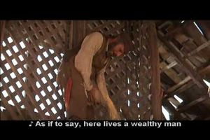 """If I were a rich man"" (from the musical ""Fiddler on the roof"")"
