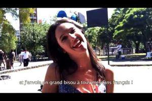 Violetta - Dédicace de Lodovica Comello (Francesca) à tous les fans français