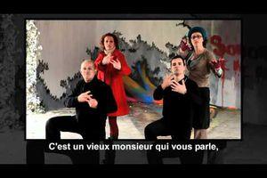 Indignez-vous, en langue des signes : HK et les Saltimbanks, avec des artistes sourds
