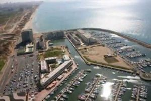 video of loft holidays apartment in Okeanos suite hotel in marina of Herzliya
