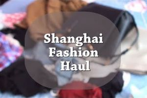 Shanghai Fashion Haul! - F21, Zara, H&M etc...