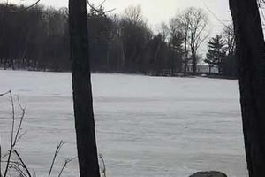 video kite surf montreal hiver sur lac Parc-nature du Cap-Saint-Jacques
