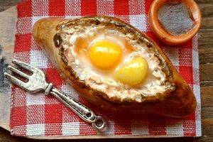Cheese & Egg boat #