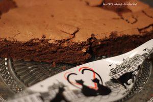 Gateau au Chocolat sans beurre de Christophe Felder