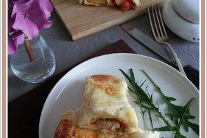 Enchiladas poulet  et poivron