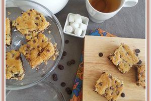 Cookies géant aux pépites de chocolat