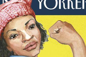 """Après la """"Marche des femmes"""", elle envoie son dessin au """"New Yorker""""... qui le publie en Une"""
